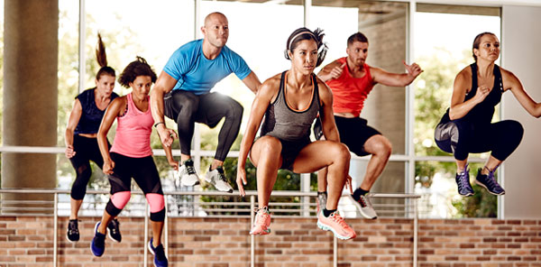 30-minute fast paced High Intensity Interval Training class in Hong Kong
